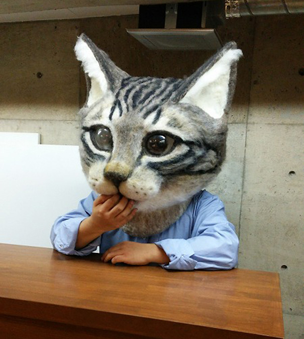cabeza-gigante-gato-fieltro-housetu-sato-japan-school-wool-art-7