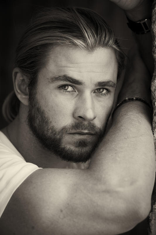 CLEARANCE REQUIRED BEFORE ANY USAGE. SPECIAL PRICE APPLIES.  Australian born Hollywood actor Chris Hemsworth.  NRT