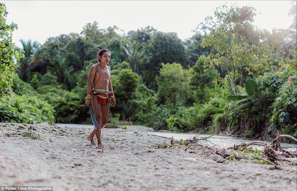 2D04C59C00000578-3257757-A_man_of_the_Mentawai_tribe_walks_by_a_river_bank_near_his_home_-a-88_1443800082498